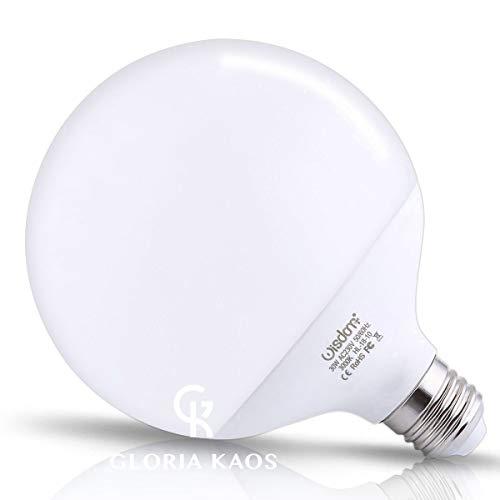 Wisdom powered by g.kaos - lampada led globe 30w = 270 watt e27 2700 lumen lampadina non dimmerabile luce bianco caldo 3000k