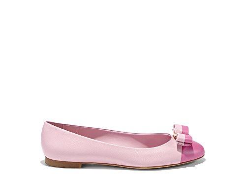 salvatore-ferragamo-damen-0629757o-rosa-leder-ballerinas