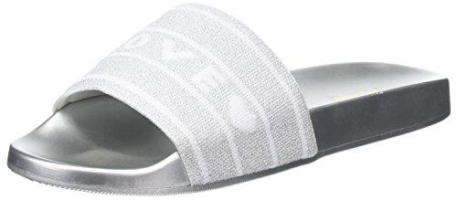 Aldo Women's Beloved Open-Toe Sandals, Silver (Silver), 4.5 UK 37.5 EU