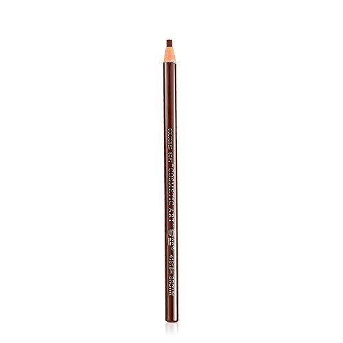 ❤AG&T❤-Home Augenbrauenstift Brauenpuder 5 Farben in 1,Langanhaltende wasserdichte Schweißfeste Rinziehbarer Stift mit Bürste - Mit Wolle-liner Mäntel