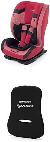 Foppapedretti Re-Klino Fix Seggiolino Auto, Gruppo 1/2/3 (9-36 Kg), per Bambini da 9 Mesi a 12 Anni, Rosso (Ch
