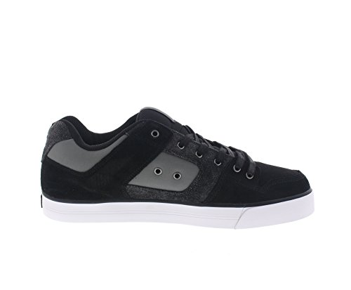 DC Shoes Pure Se, Sneakers Basses Homme Schwarz (Black Destroy Wash-Kdw)