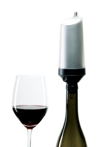 ravi Instant Weinkühler für Rotwein, rotbraun (1 Stück)