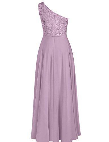 HUINI Damen Modern Kleid Graugrün ...