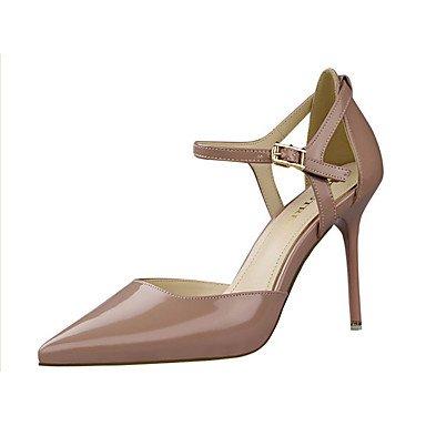 Moda Donna Sandali Sexy donna tacchi tacchi estate pu Casual Stiletto Heel altri nero / rosso / Argento / nudo / Beige Altri Silver