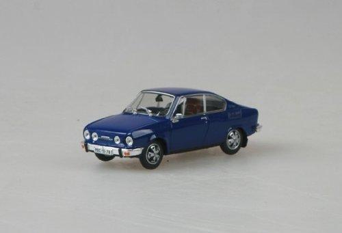 Abrex 1978 Skoda 110 R Coupé 143ABS-707KN, Saphir Blau, 1:43 Die Cast