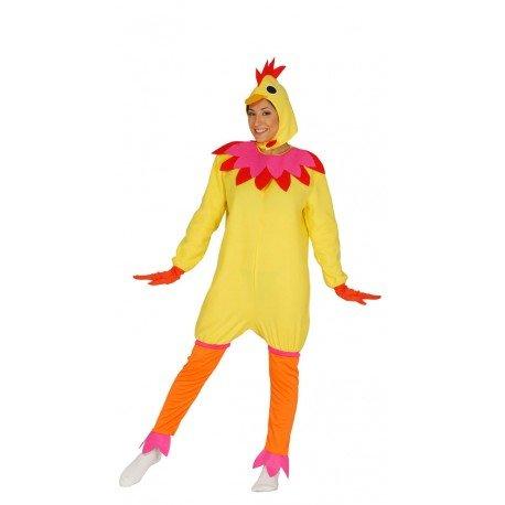 Imagen de disfraz de gallina mujer talla l