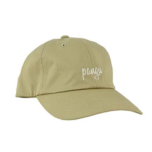 pangu Caps classic für Damen und Herren beige - Basecaps aus 100 % Baumwolle mit verstellbarem Verschluss - Einfarbiges Dad Cap in Deutschland bestickt und veredelt - Unisex...