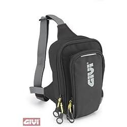 GIVI EA113B Easy Bag Bolsillo de Pierna Urban, Color Negro, Volumen 2 Litros, Carga Máxima 1 Kg