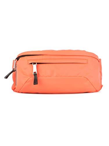 Prada Herren 2Vl0082btef0xyb Orange Leder Reisetasche -