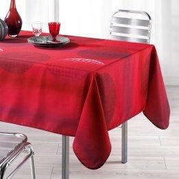 L'Harmonie Du Décor  - 1721371, Mantel Rectangular , 150 X 240 Cm , Kosmo , Poliéster Estampado , Rojo width=