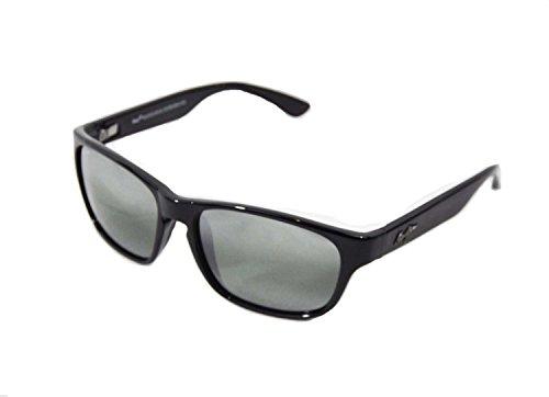 maui-jim-mixed-plate-negro-brillante-gris-neutra-polar-negro-talla-nica