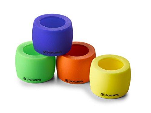 Goal Zero 96017blau, grün, rot, gelb Anzeige Lampe-Projektor Farbtöne (Außen, blau, grün, rot, gelb, Zylinder, 4Stück (S)) - Gelbe Anzeige-lampe
