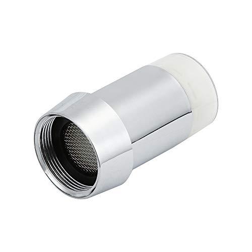 Preisvergleich Produktbild Syeytx LED spritzwassergeschützt Wasserhahn Wasserhahn Wasserkraft mit Adapter Temperatursensor Licht
