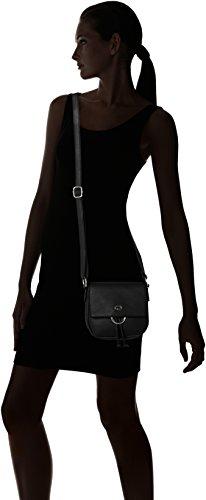 Gerry Weber - Flash Over Shoulderbag Svf, Borse a tracolla Donna Nero (Black)