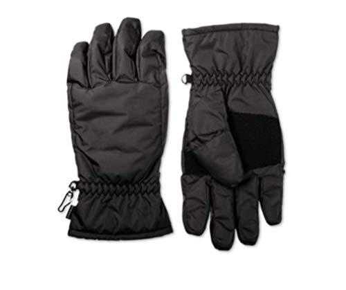 Isotoner Nylon-handschuhe (Isotoner Signature Mens Ski Gloves Black Size M L)