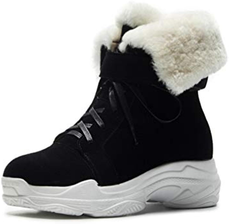 YAN Stivaletti da Donna Ladies Suede Winter Winter Winter New Ankle avvioes Casual Comfort Stivaletti Casual da Passeggio (Coloreee... | Costi Moderati  53d3c7