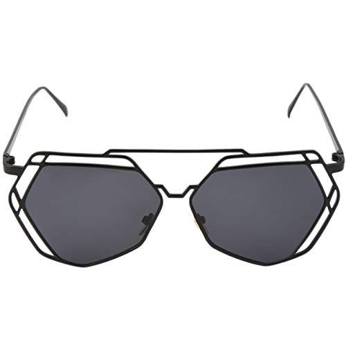 Steampunk Hollow Polygon Polygon Occhiali da Sole New Vintage Occhiali da  Sole Donna Uomo Designer di 7f57351c87eb