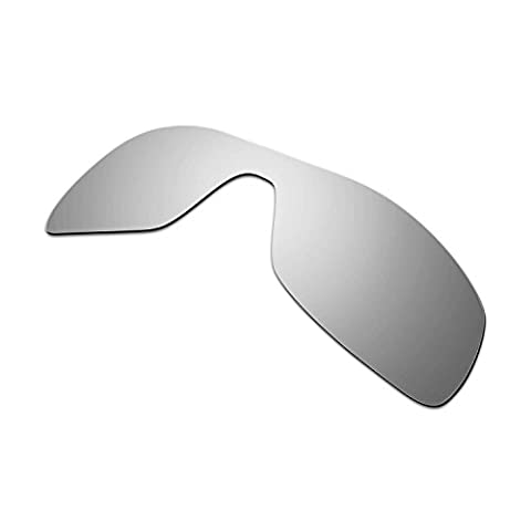 Hkuco Mens Replacement Lenses For Oakley Antix Sunglasses Titanium Mirror Polarized