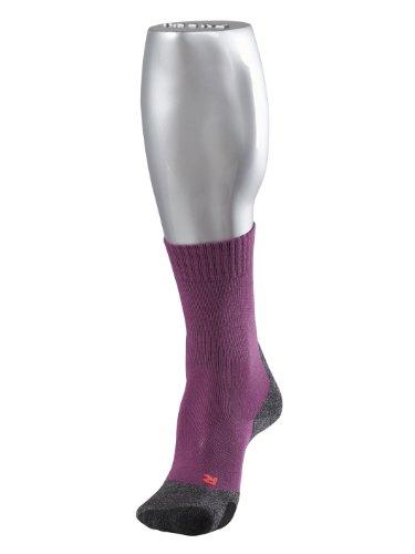 FALKE Damen Trekking Socken TK2 Women, Wildberry, 39-40, 16445 (Socken Merinowolle Leichte)