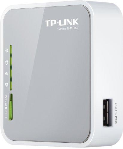 TP-Link TL-MR3020 Mini Pocket 3G/4G Wireless Router (Grey)