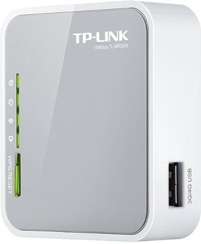 TP-Link TL-MR3020 Portable 3G/4G WLAN-Router (WISP Client Router, Travel Router Mode (AP Mode) [Amazon frustfreie