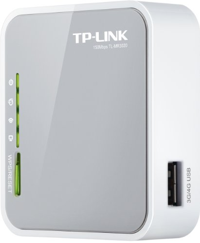 Router Inalámbrico 3G/4G TP Link TL-MR3020