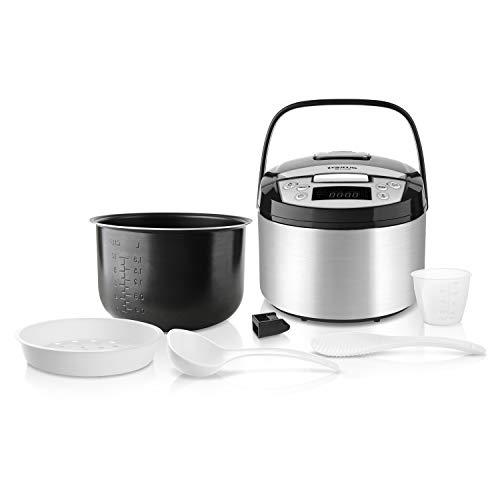 Taurus Top Cuisine Máquina de cocinar programable, cubeta extraíble 5 L, 12 Temporizador 24h,...