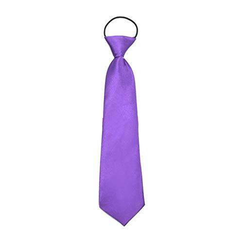 BlackEdragon Klassisches Design Kinder Kinder Krawatte Soft Formal Business Party Hochzeit Krawatte Krawatte Hemd Krawatte Krawatte
