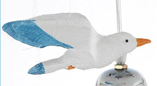 Kinderzimmer Kronleuchter Mittelmeer Rudder Seagull Schlafzimmer Kronleuchter Jungen und Mädchen Kreative LED-Augen Temperatur Einfache Xin Licht - 4