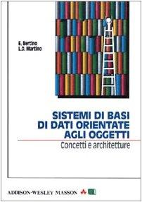 Sistemi di basi di dati orientate agli oggetti. Concetti e architetture
