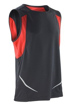 Result ärmelloses Sportshirt Athletic S186X Red/White