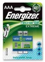 BATTERY, EXTREME NI-MH AAA 800MAH 2PK 635000 By ENERGIZER
