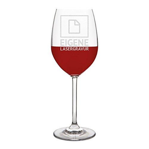 Leonardo Rotweinglas 470ml Individuelle Gravur Geschenk Weinglas - Eigene Gravur