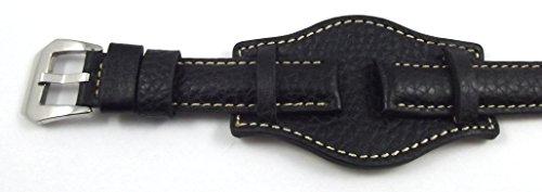 20-mm-uhrenarmband-breitband-mit-unterlage-uhrband-leder-armband-schwarz