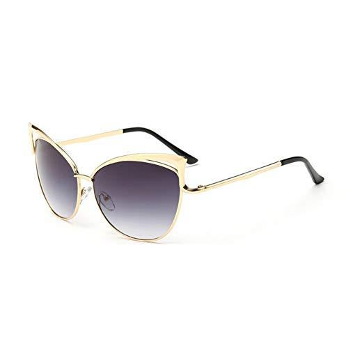 ZHENCHENYZ Schmetterling Vintage Frauen Cat Eye Sonnenbrille Sexy Promi Weibliche Shades UV400 Spiegel Große Sonnenbrille Weibliche Geschenk