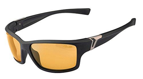 Gamakatsu G-glasses EDGE Polarisationsbrille Amber