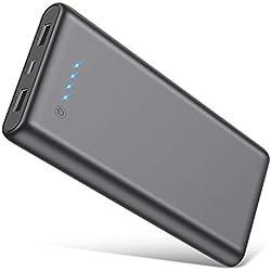 Feob Batterie Externe 25800mAh Power Bank Portable Chargeur【Emporter en Avion】Batterie de Secours 2 Ports USB Sortie Haute Vitesse Chargeur Nomade Batterie Externe pour Tous Smartphones Tablettes etc.