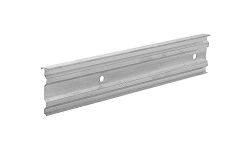 SAREI Haus- und Dachtechnik SHDT Alu - Kappleiste Stranggepresst 56x13x1mm 2m, 5 Stück im SET