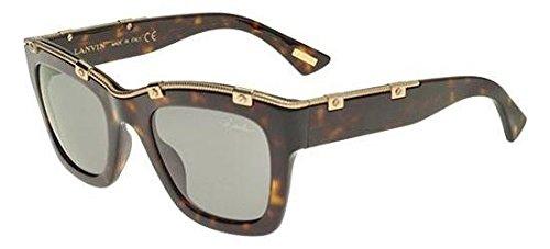 Unbekannt Sonnenbrillen Lanvin SLN694 HAVANA/LIGHT GREY GREEN Damenbrillen