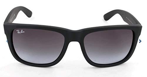 Ray Ban Unisex Sonnenbrille RB4165 Schwarz (Gestell: Schwarz, Gläser: Grau Gradient 601/8G), Large (Herstellergröße: 54)
