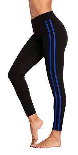 Nylon Running Strumpfhose (BeautyIn Sportshose für Damen High Wasit Stretchy Active Running Hose mit Stoffdruck Strumpfhose M)