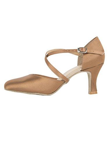 So Danca BL156 Tanz Schuhe Chromledersohle, Absatz 6,5 cm kupfer EU 37,5/38 (Kupfer Schuhe)