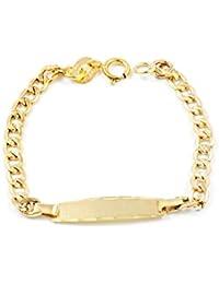 9ct Yellow Gold Baby Bracelet