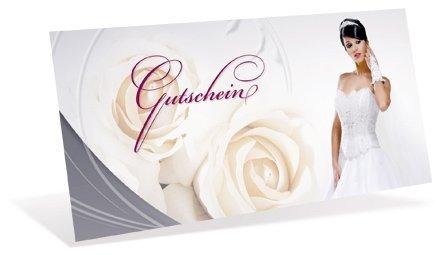 Gutscheinkarten (10 Stück) für Ihre Kunden - Geschenkgutscheine für Hochzeit, Einzelhandel,...