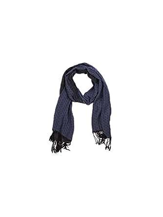 Armani Jeans écharpe homme eagle pattern blu