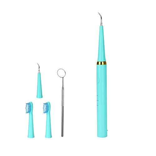 LXYQH Wasserpickel Zahnreiniger Zahnsteinentfernung Zähne vibrieren Zahnstein Zahnsteinentferner Zahnpflege Blau