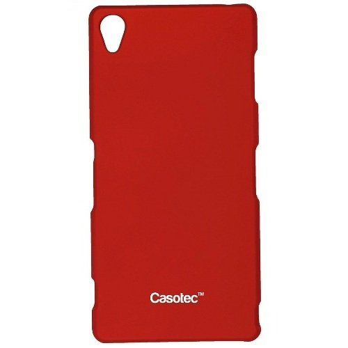 Casotec Ultra Slim Hard Shell Back Case Cover for Sony Xperia Z3 - Maroon Red  available at amazon for Rs.125