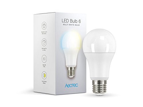 Aeotec LED Bulb 6 Multi-White - Z-Wave Plus