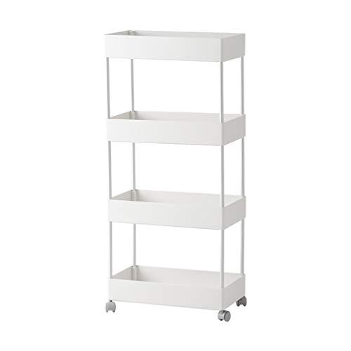 Regale Organizer Rack Garage Storage Unit unterstützt schwebende Kabinett verstellbare Halterung Badezimmer Küche Kunststoff (Color : A) - Regal Storage Unit